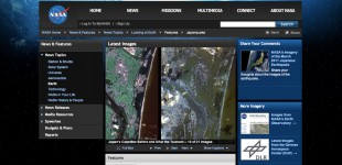 NASA Coverage of the 2011 Japanese Earthquake