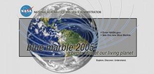NASA: Blue Marble 2005