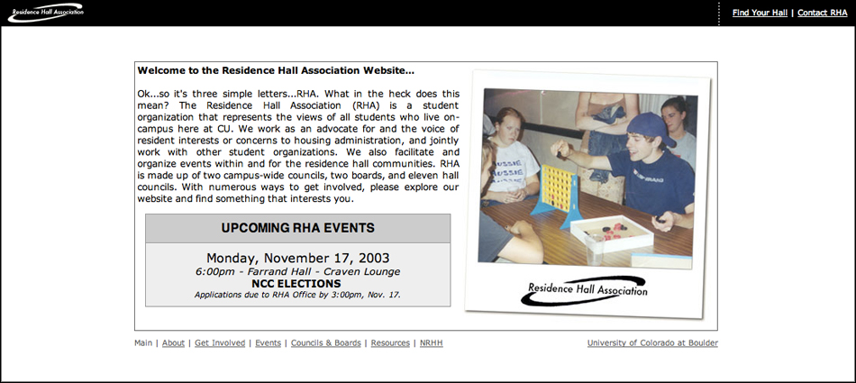 Screenshot of RHA