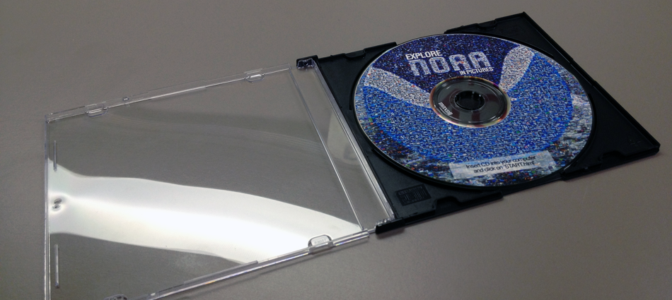 Photo of CD-ROM