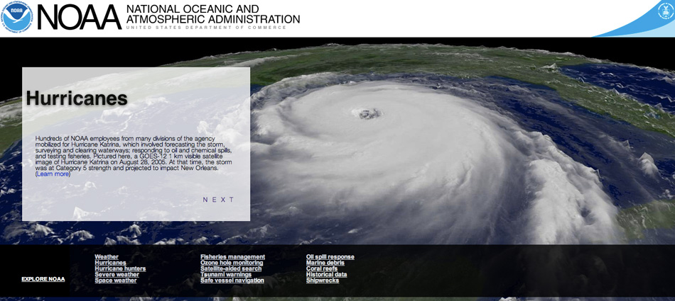 Explore NOAA Screenshot