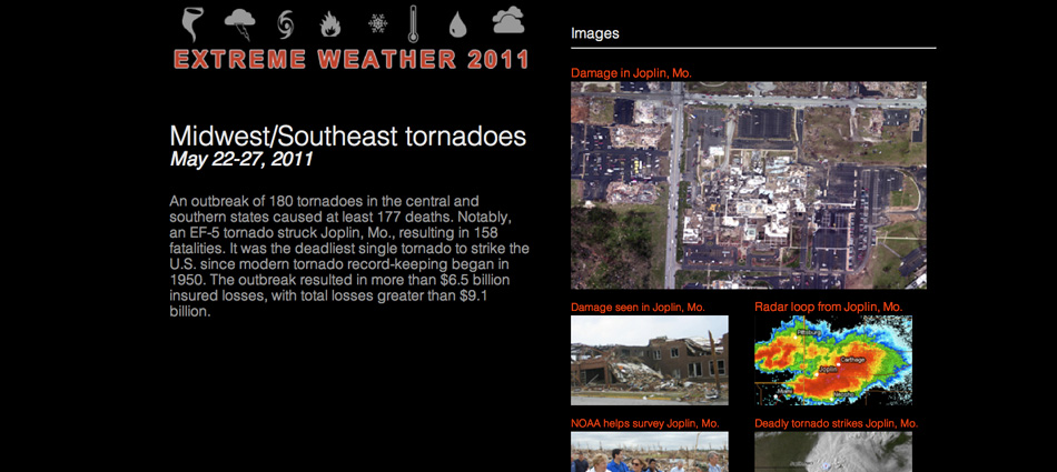 Extreme Weather 2011 Screenshot