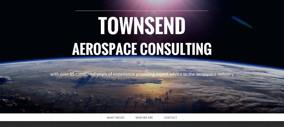 Screenshot of Townsend Aerospace Consulting